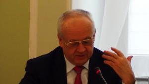 Profesor Edward Haliżak, 65-lecie polsko-wietnamskich stosunków dyplomatycznych fot.ŚWIECZAK