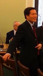 dr Nguyen Van Thanh – Radca handlowy ambasady wietnamskiej w Polsce 65-lecie polsko-wietnamskich stosunków dyplomatycznych fot.ŚWIECZAK