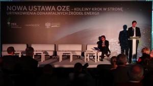 """Marek Woszczyk Prezes Polskiego Komitetu Energii Elektrycznej Konferencja """"Nowa ustawa OZE – kolejny krok w kierunku urynkowienia odnawialnych źródeł energii fot. ŚWIECZAK"""