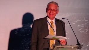 """Hans Ten Berge Sekretarz Generalny Eurelectric Konferencja """"Nowa ustawa OZE – kolejny krok w kierunku urynkowienia odnawialnych źródeł energii fot. ŚWIECZAK"""