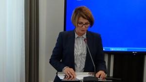 Julia Pitera Euro posłanka Spotkanie delegacji członków Europejskiego Trybunału Obrachunkowego z senatorami i posłami. fot.ŚWIECZAK