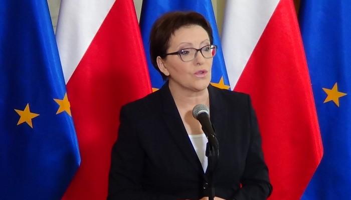 Premier Ewa Kopacz o Władysławie Bartoszewskim  fot. ŚWIECZAK