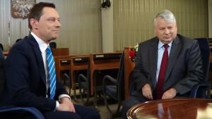 Marszałek Senatu Bogdan Borusewicz spotkał się z przedstawicielami Polonii z okazji zbliżającego się Dnia Polonii i Polaków za Granicą fot.SWIECZAK