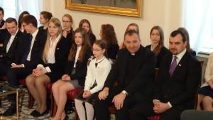 Stypendyści to żywy pomnik Jana Pawła II fot.ŚWIECZAK