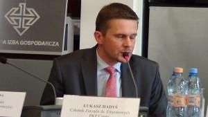Łukasz Hadyś, członek zarządu PKP Cargo ds. finansowych Liderzy ekspansji zagranicznej atrakcyjne kierunki inwestycji, sposoby budowy pozycji na rynkach zagranicznych fot.ŚWIECZAK