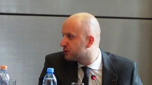 Andrzej Dycha wiceminister gospodarki  Liderzy ekspansji zagranicznej atrakcyjne kierunki inwestycji, sposoby budowy pozycji na rynkach zagranicznych fot.ŚWIECZAK