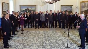 Uroczystość wręczenia odznaczeń za upowszechnianie prawdy o Zbrodni Katyńskiej fot.ŚWIECZAK