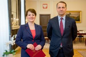 Marszałek Sejmu wręczył nominację nowej Generalnej Inspektor Ochrony Danych Osobowych fot. Paweł Kula