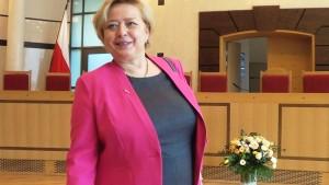 Prezydent RP na Zgromadzeniu Ogólnym Sędziów Trybunału Konstytucyjnego Prezes Sądu Najwyższego prof. Małgorzata Gersdorf