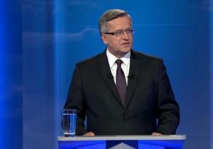 Bronisław Komorowski Prezydent RP Debata prezydencka 2015: Bronisław Komorowski czy Andrzej Duda fot.ŚWIECZAK