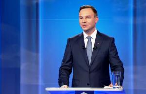 Andrzej Duda kandydat na Prezydent RP Debata prezydencka 2015: Bronisław Komorowski czy Andrzej Duda fot.ŚWIECZAK