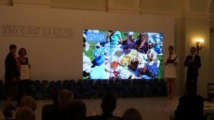 """Gala Konkursu """"Dobry Klimat dla Rodziny"""" w Pałacu Prezydenckim fot. ŚWIECZAK"""