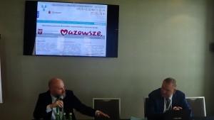 Krzysztof Landa President at MedInvest Scanner Ltd M.I.S. Piotr Radziszewski Prof. dr hab. n. med. I Warszawskie Seminarium UroRadioOnkologii – Rak Stercza fot.ŚWIECZAK