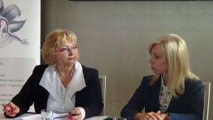 Elżbieta Betlej Emilia Radziszewska I Warszawskie Seminarium UroRadioOnkologii – Rak Stercza fot.ŚWIECZAK