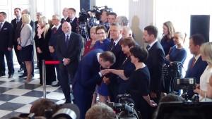 Andrzej Duda otrzymał nominację prezydencką od PKW fot. ŚWIECZAK