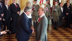 Prezydent RP Bronisław Komorowski wręczył odznaczenia państwowe z okazji Święta Narodowego 3 Maja  fot.SWIECZAK