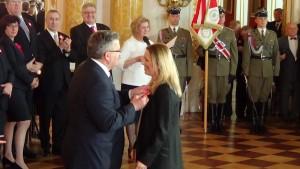 Prezydent RP Bronisław Komorowski Anna Maria Jopek Prezydent RP Bronisław Komorowski wręczył odznaczenia państwowe z okazji Święta Narodowego 3 Maja fot.SWIECZAK