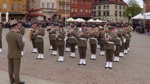 Uroczystości na Placu Zamkowym z okazji Święta Narodowego 3 Maja fot.SWIECZAK