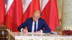 Borys Budka Ministra Sprawiedliwości Borys Budka nowym ministrem sprawiedliwości fot.SWIECZAK
