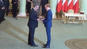 Bronisław Komorowski  Prezydent RP Borys Budka Ministra Sprawiedliwości Borys Budka nowym ministrem sprawiedliwości fot.SWIECZAK