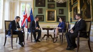 Spotkanie premier Ewy Kopacz z Davidem Cameronem Fot. M. Śmiarowski / KPRM