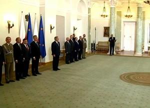 Prezydent wręczył akt mianowania nowemu Dowódcy Generalnemu fot. ŚWIECZAK