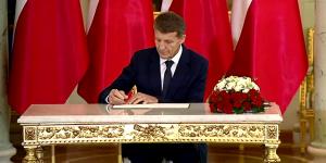 Prezydent powołał trzech nowych ministrów fot. ŚWIECZAK