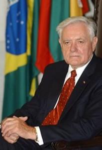 Prezydent Litwy Valdas Adamkus Gala wręczenia nagrody Forum Współpracy i Dialogu Polska-Litwa