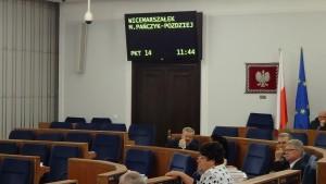 Informacja o działalności Rzecznika Praw Obywatelskich za rok 2014 -sprawozdanie w Senacie fot. ŚWIECZAK