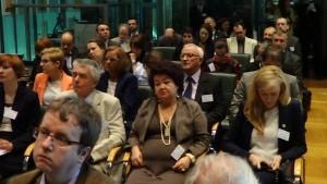 Prezentacja raportu ESA na temat potencjału polskiego sektora kosmicznego fot. ŚWIECZAK