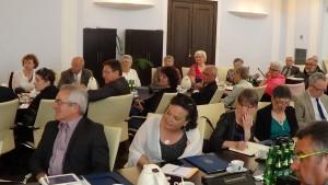 wicemarszałek Senatu Jan Wyrowiński  Spotkanie wicemarszałka Senatu Jana Wyrowińskiego z delegacją przedstawicieli władz samorządowych regionu Bretagne fot. ŚWIECZAK