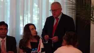 Konferencja prasowa z Ambasadorem Syrii Jego Ekscelencją dr. Idris Mayya