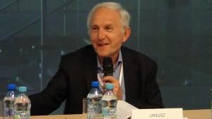 Janusz Czapiński Prof. dr hab.  Warsaw Days – briefing prasowy fot. ŚWIECZAK