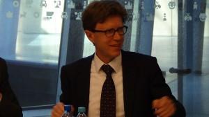 Engelbert Luetke Daldrup Sekretarz stanu Warsaw Days – briefing prasowy fot. ŚWIECZAK
