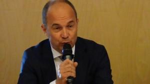 Grzegorz Kiełpsz  Prezes PZFD Warsaw Days – briefing prasowy fot. ŚWIECZAK
