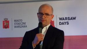 Paweł Putkowski prezes zarządu Oddziału Warszawskiego PZFD Warsaw Days 2015  - Warszawa – miejsce do życia fot. ŚWIECZAK