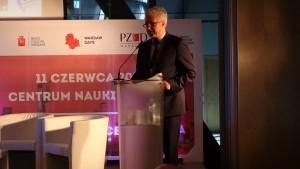Jacek Wojciechowicz wiceprezydent m. st. Warszawy  Warsaw Days 2015  - Warszawa – miejsce do życia fot. ŚWIECZAK