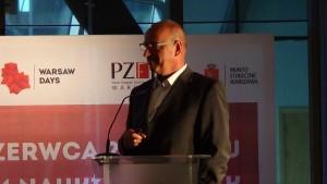 Marek Poddany wiceprezes Polskiego Związku Firm Deweloperskich Warsaw Days 2015  - Warszawa – miejsce do życia fot. ŚWIECZAK