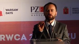 Michał Olszewski wiceprezydent m. st. Warszawy Warsaw Days 2015  - Warszawa – miejsce do życia fot. ŚWIECZAK