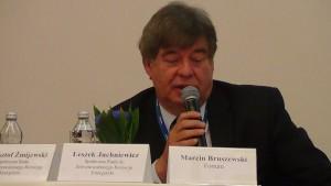 dr Leszek Juchniewicz XI międzynarodowa konferencja NEUF 2015 fot. ŚWIECZAK