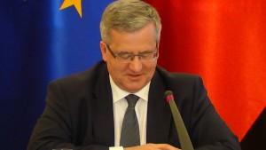 Prezydent Bronisław Komorowski System wyborczy – JOW wobec społeczeństwa obywatelskiego fot.ŚWIECZAK