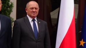 Marek Sawicki  Minister Rolnictwa i Rozwoju Wsi  Gala AgroLigi 2014  fot. ŚWIECZAK