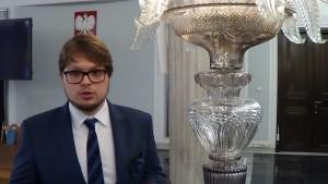 mgr Adam Lipiński, Uczelnia Łazarskiego Dostęp do informacji publicznej w praktyce samorządu terytorialnego fot. ŚWIECZAK