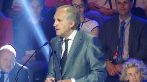 prof. Marian Zembala Minister zdrowia Konwencja Platformy Obywatelskiej fot. ŚWIECZAK
