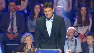 Adam Korol, Minister Sportu Konwencja Platformy Obywatelskiej fot. ŚWIECZAK