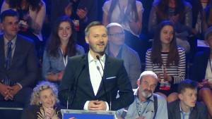 europoseł Jarosław Wałęsa Konwencja Platformy Obywatelskiej fot. ŚWIECZAK
