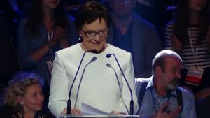 Premier Ewa Kopacz Konwencja Platformy Obywatelskiej fot. ŚWIECZAK