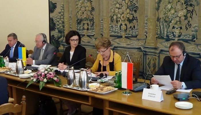 VIII sesja Zgromadzenia Parlamentarnego Polski i Ukrainy fot. ŚWIECZAK