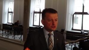 Mariusz Błaszczak na temat debaty Ewa Kopacz - Beata Szydło fot. ŚWIECZAK