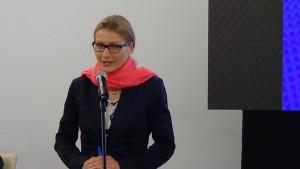 """dr Magdalena Lesińska, Uniwersytet Warszawski V seminarium w ramach projektu """"Archiwa Przełomu 1989 – 1991"""" w Senacie fot. ŚWIECZAK"""
